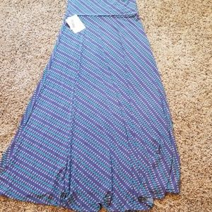 Brand new Lularoe maxi skirt with sweet arrow prin
